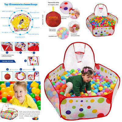 US Ball Tent Baby Toy Stages Learn Laugh Toddler Kids Boy Girl Educational Pool