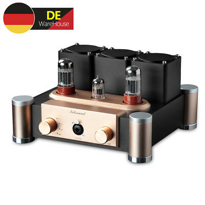CLASS A 12AU7 Tube Headphone Amplifier Stereo Röhren