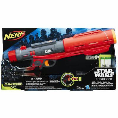 NERF Star Wars Rogue One Imperial Death Trooper Blaster Glowstrike NEW