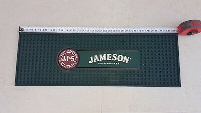 JAMESON IRISH WHISKEY BAR MAT Different and wide in particular