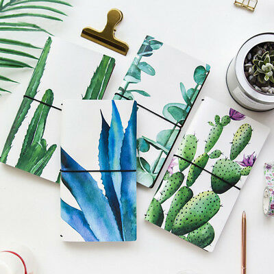 2018 Plants Notebook Monthly Planner Agenda Notebook Journal Diary Stationery