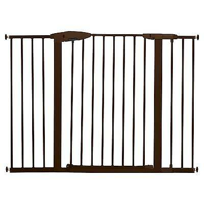 Munchkin® Easy Close Tall & Wide Metal Baby Gate Bronze - 29.5-51.6
