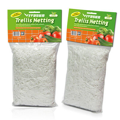 VIVOSUN 2 Pack 5ft x 30ft Heavy Duty Trellis Netting Plant Support Grow Mesh Net