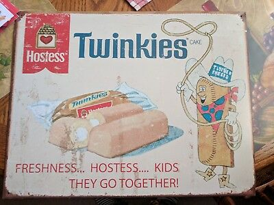 Hostess Twinkies Metal Sign 2007