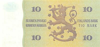Finland  10  Marka  1980  P 112a  Litt. A  Uncirculated Banknote NY1117M