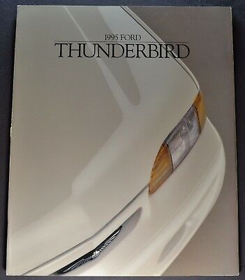 1995 Ford Thunderbird Catalog Brochure LX Super Coupe Excellent Original T-bird