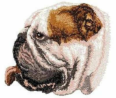 """Bulldog Embroidered  Patch Approx. Size 2.9""""x2.9"""""""""""
