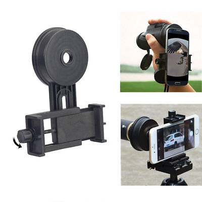 Universal Phone Camera Adapter Telescope Spotting Scope Mount For iPhone Samsung