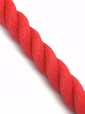 12mm Jester 3 Strand Multifilament Softline Floating Rope x 10 Metres