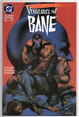 Batman Vengeance of Bane Special 1 First Printing Comic! 1st Appearance 1993 NM