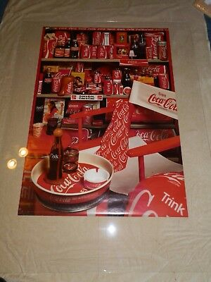 Vintage Coca-cola of the world poster 1978 new old stock Cootje 5019 24x 38