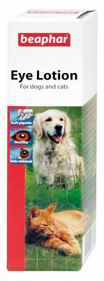 Beaphar Eye Lotion For Cats and Dogs, Cleans & Soothes Irritation, Removes Tears