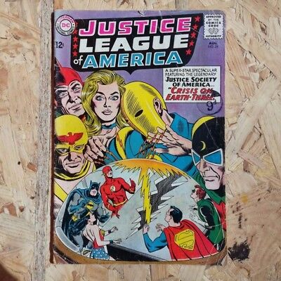 Justice League of America Vol 1 #29 (1964) - First Appearance of Crime Syndicate