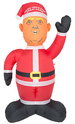 Inflatable Airblown Indoor and Outdoor Make Christmas Great Again Donald Trump