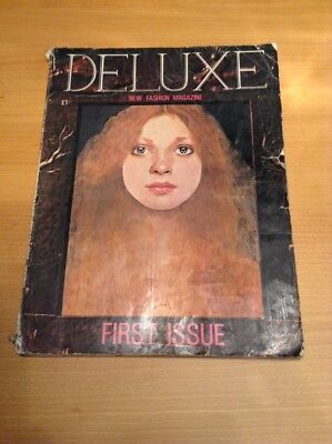 Very Rare 1st Issue 'Deluxe' Magazine Autumn 1977 - Peter Blake Cover Design