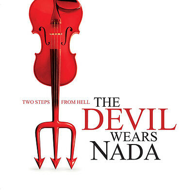 TWO STEPS FROM HELL - The Devil Wears Nada (Rare CD/DVD Promo)Film Trailer Music
