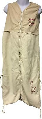 PRE-OWNED SlumberSac Beige Detailed Grobag Sleeping Bag Size 18-24 Months AP297