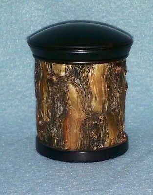 Hans Weissflog, Ornamental Turning,  Woodturning, Exotic Wood Trinket Box