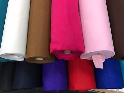 CRAFT FELT FABRIC 13 colours Arts and Crafts Material Toys displays Soft 91cm