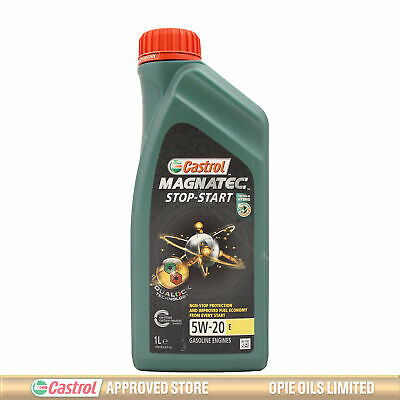 Castrol Magnatec Stop-Start 5W-20 E Fully Synthetic Engine Oil - 1 Litre