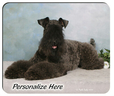 Kerry  Blue  Terrier   ( 1 )    Personalized  Mouse Pad