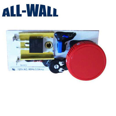 Variable Speed Dial Control Switch for Porter-Cable 7800 Drywall Sander 120 Volt