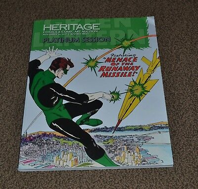 Heritage Auction Comic & Comic Art Full color Catalog 130+ pages: EX