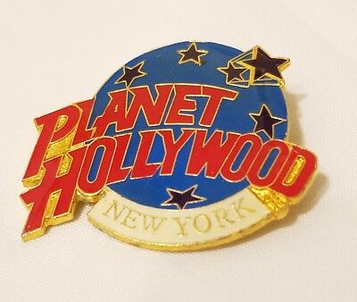 Vintage Planet Hollywood New York Enamled Red White & Blue Pin Estate Find!!