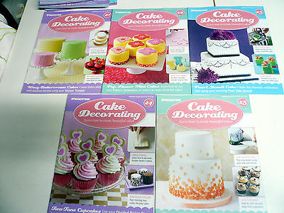 Cake Decorating magazines lot of 5 issue 21 22 23 24 25 please see photo's