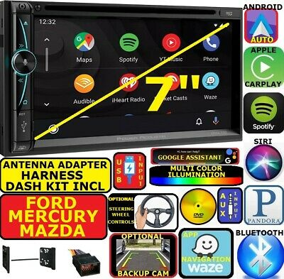 Ford Mercury Mazda Nav Bluetooth Cd/Dvd Carplay Android Auto Car Radio Stereo