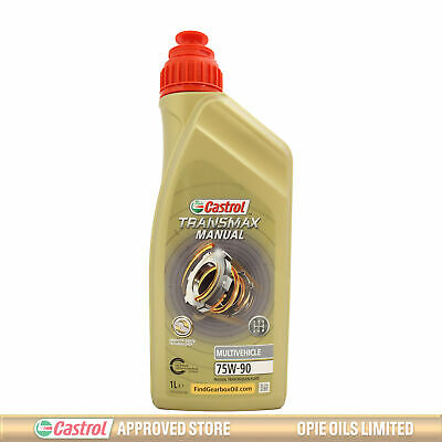 Castrol Syntrans Multivehicle 75W-90 Fully Synthetic MTF 75W90 1 Litre 1L