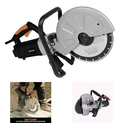Electric Brick Blocks Construction Concrete Cutter Tool Circular Saw Cut Masonry