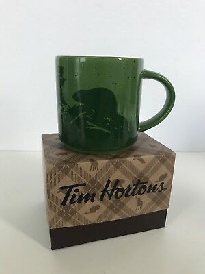 NEW IN BOX Tim Horton's 2017 Holiday Coffee Mug Cup BEAVER, Limited Edition