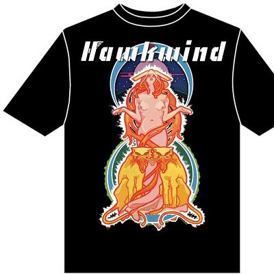 Hawkwind M In search of space t-shirt XS L S XL XXL