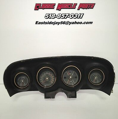 69 70 Ford Mustang Mach 1 Boss Shelby Speedometer Gauge Cluster Fastback #2