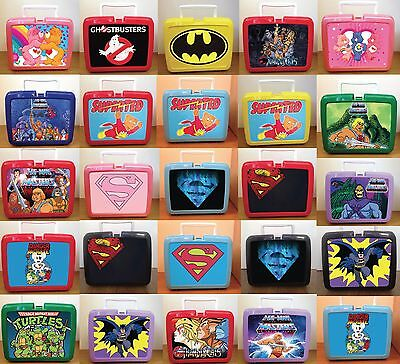 Retro Lunchbox Stickers! He-man Thundercats Superted Batman Ghostbusters & More!