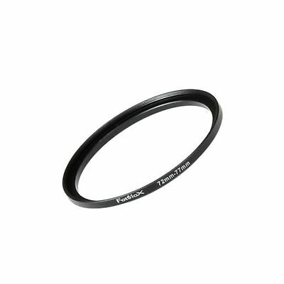 Fotodiox Metal Step Up Ring Filter Adapter Anodized Black Aluminum 72mm-77mm ...