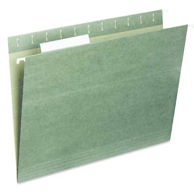 Universal® Hanging File Folders, 1/5 Tab, 11 Point Stock, Legal, Standar...