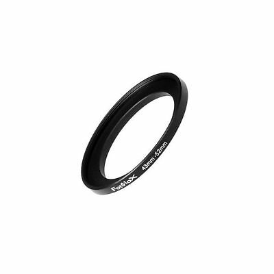 Fotodiox Metal Step Up Ring Filter Adapter Anodized Black Aluminum 43mm-52mm ...