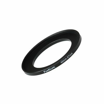Fotodiox Metal Step Up Ring Filter Adapter Anodized Black Aluminum 49mm-67mm ...