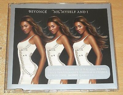 BEYONCE : Me Myself And I - enhanced 4-trk CD EP inc 2 live video peformances