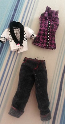 Operetta Monster High Original Fashion Doll Clothes Outfit Dress Accessory Pack