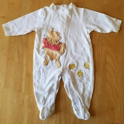Baby Boys/Girls Clothes, Winnie the Pooh Sleeper Outfit, Size 3-6 Months, Disney