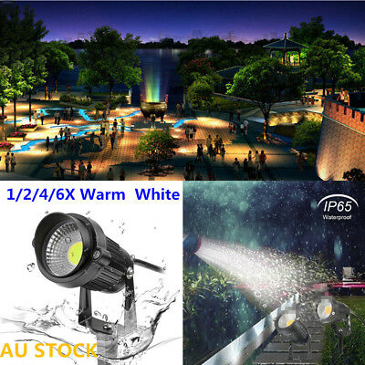 COB Waterproof LED Landscape Garden Wall Yard Path Flood Spot Light Outdoor 5W