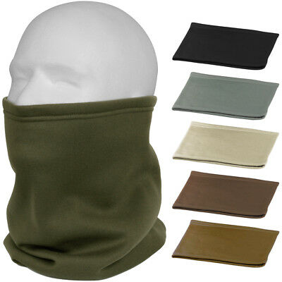 Cold Weather Poly Tactical Neck Gaiter Fleece-Lined Military ECWCS Cover