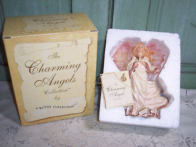 "Charming Angels by Boyds ""Gloriana"" Guardian of Faith 2001 w/Box 1E/51"