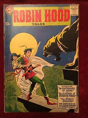 Robin Hood Tales #10 (Jul-Aug 1957, DC)