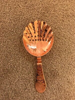 Absolut Elyx Copper Damask Julep Strainer free Shipping