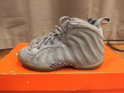 2015 Mens Nike Air Lil Posite One Premium Grey Suede Grey Size 13.5C Used Rare