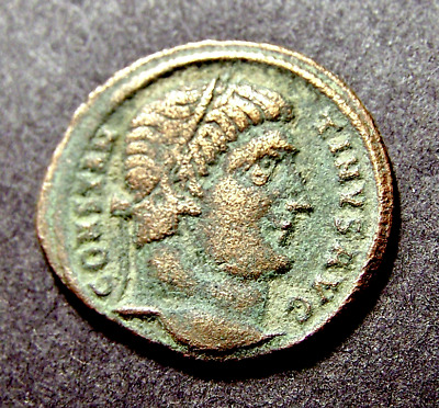 CONSTANTINE I, All Along the Watchtower in Antioch, Syria, SCARCE Roman Coin
